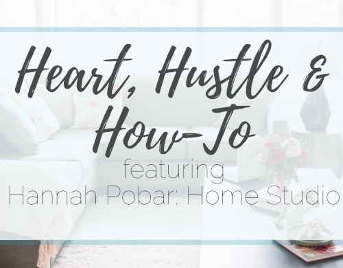 Heart, Hustle and How-To: Home Studio