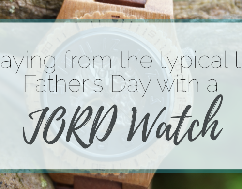 Straying from the Typical this Father's Day with a JORD Watch