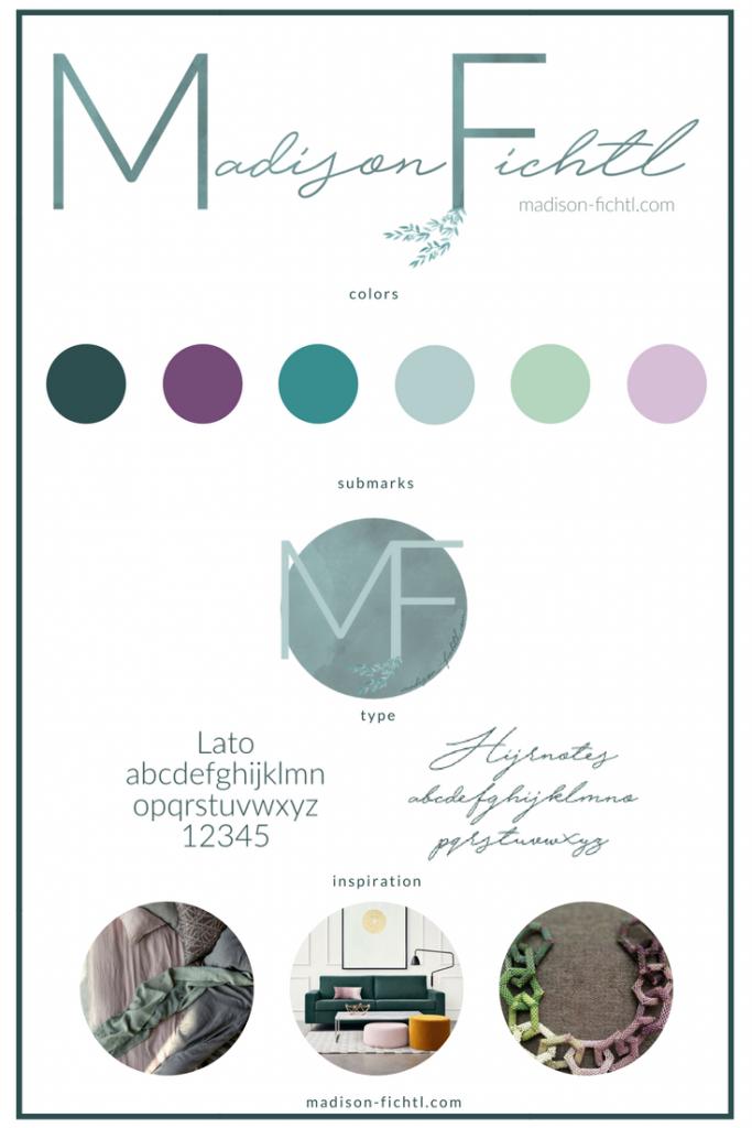 Brand Mood Board | Branding Tips | Brand Refresh | Madison Fichtl | Madison-fichtl.com