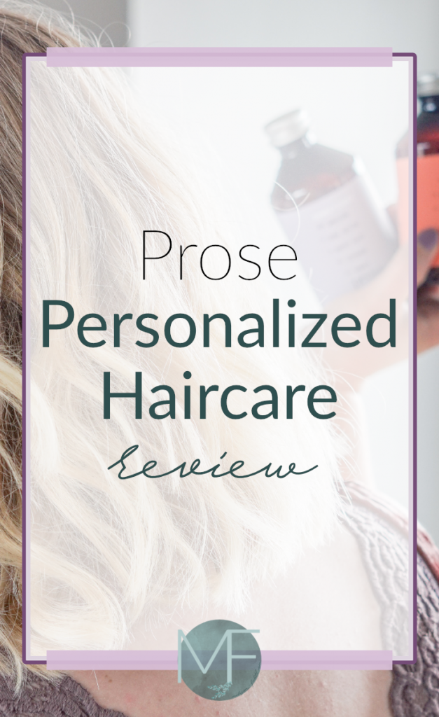 Prose Personalized Haircare Review   Customized Haircare   Best Shampoo Review