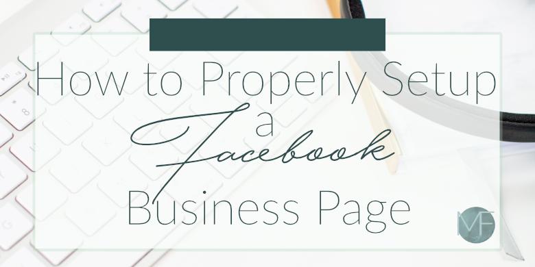 How to Setup a Facebook Business Page | Social Media Help | Madison-fichtl.com
