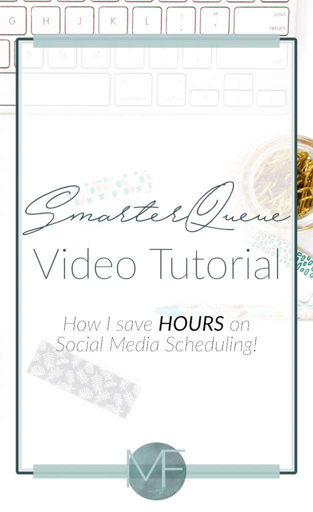 SmarterQueue Video Tutorial | Social Media Tips | Small Business Tips | Madison Fichtl | Madison-fichtl.com