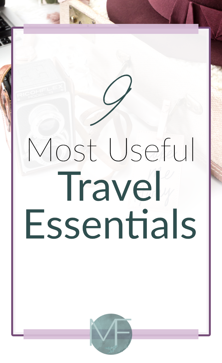 9 Most Useful Travel Essentials | Travel Tips | Packing Tips | What to Pack | Madison Fichtl