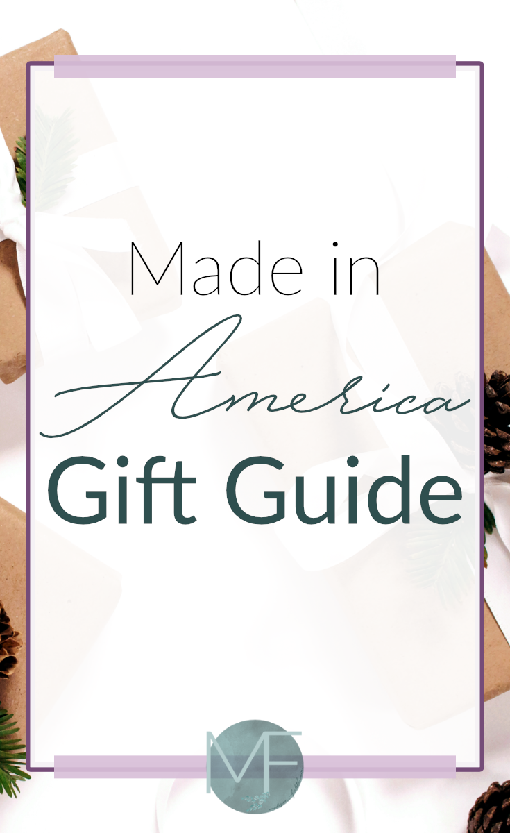 Made in America Gift Guide | Gift Ideas | Made in the USA | Products Made in America | Gift Ideas