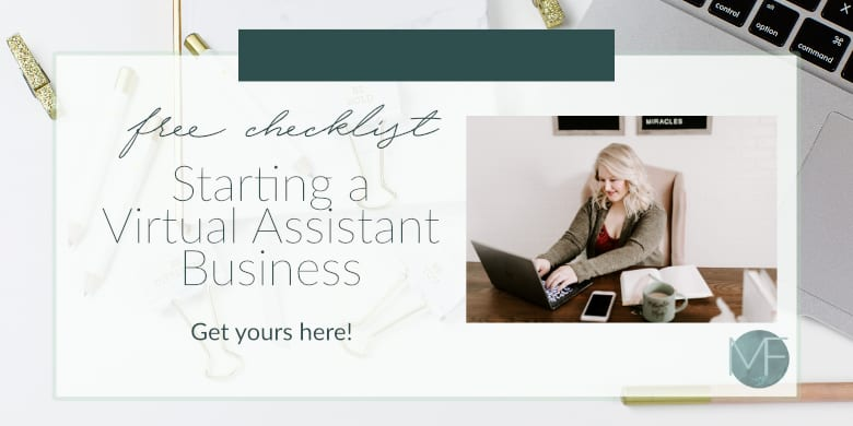 Starting a Virtual Assistant Business | Free Resource | Starting a Business | Making Money from Home | #workfromhome #virtualassistant
