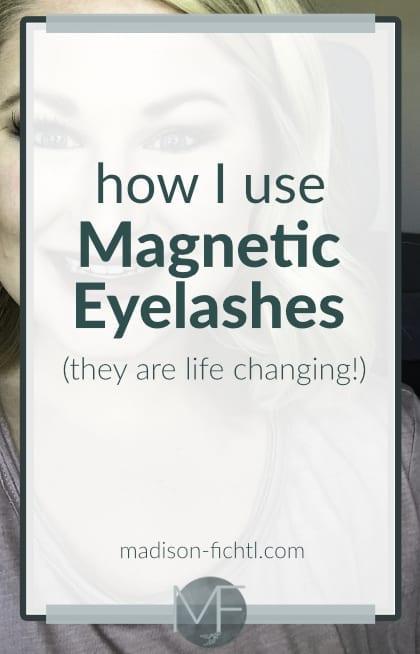 How I Use Magnetic Eyelashes | False Eyelashes | Ardell Magnetic Lashes | Magnetic Lashes | #FalseLashes