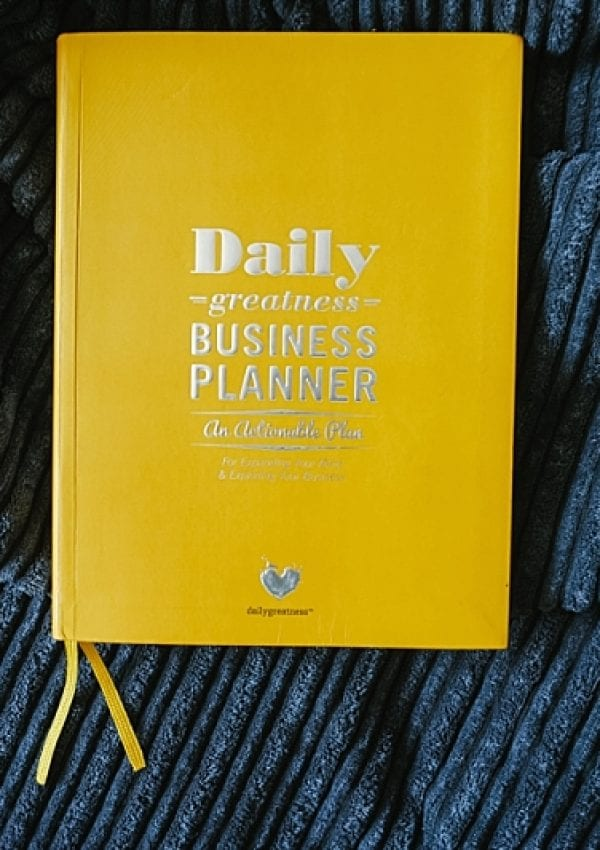 Daily Greatness Business Planner: Review