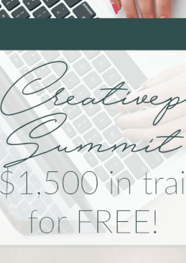 2017 Creativepreneur Summit (FREE Trainings!)