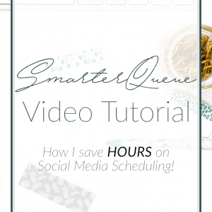SmarterQueue Video Tutorial | Social Media Tips | Small Business Tips | Madison Fichtl | Madison-fichtl.com