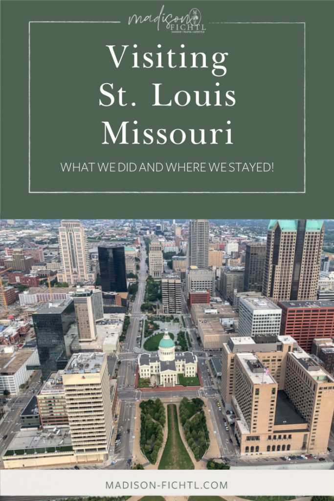 Check out our visit to St. Louis Missouri - including the St. Louis Arch, Budweiser Brewery and where we stayed!