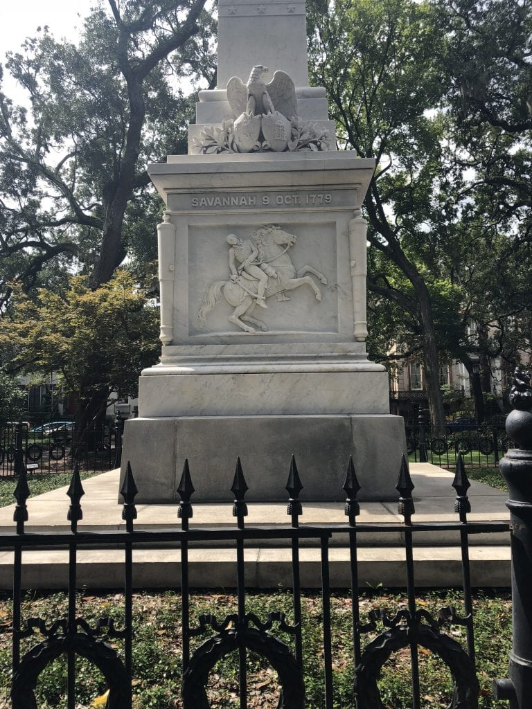 Visiting Savannah, Georgia