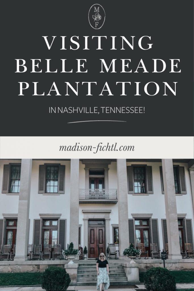 Visiting Belle Meade Plantation in Nashville, Tennessee - Travel Guide.