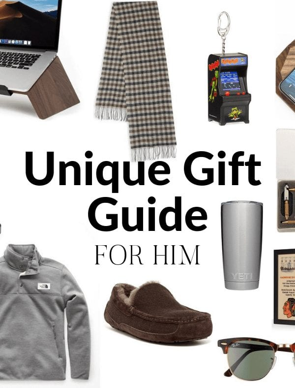 Unique Gifts for Him 2018