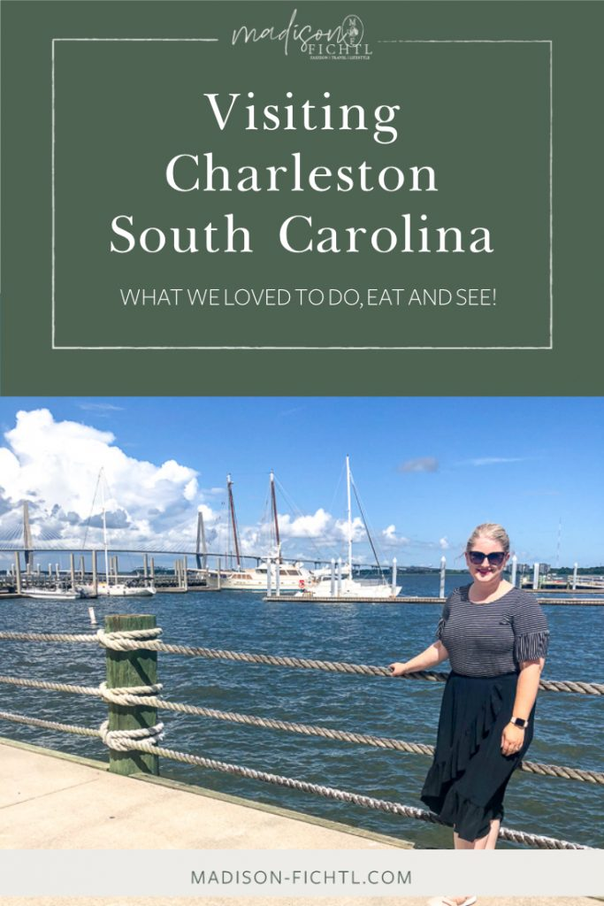 Travel Guide Charleston South Carolina. What we did, ate and where we stayed! #charleston #southcarolina #travelguide