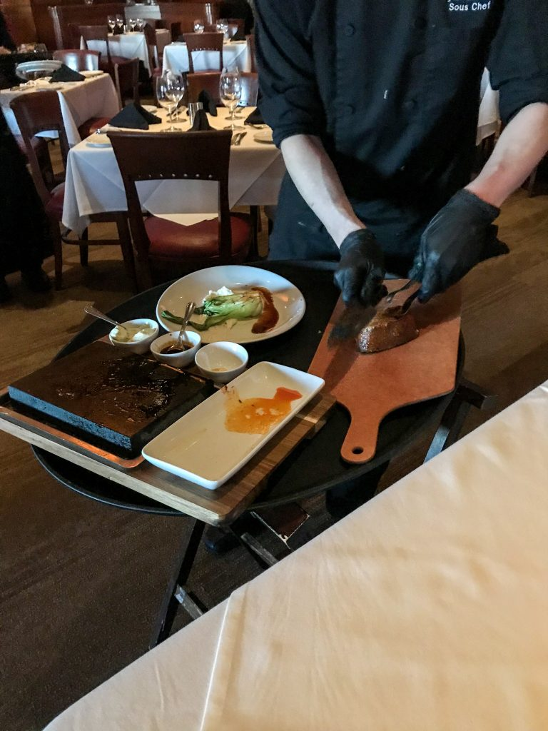 Chef's Table at Fleming's in Des Moines