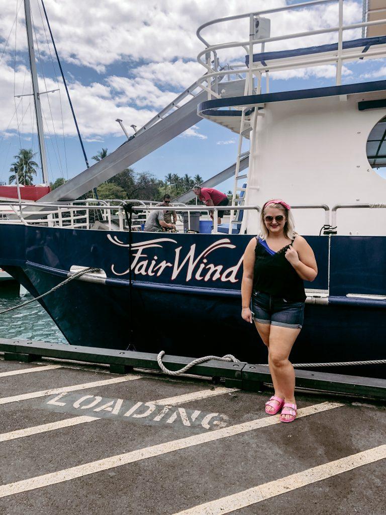 Kona Snorkeling Cruise with Fair Wind Cruises