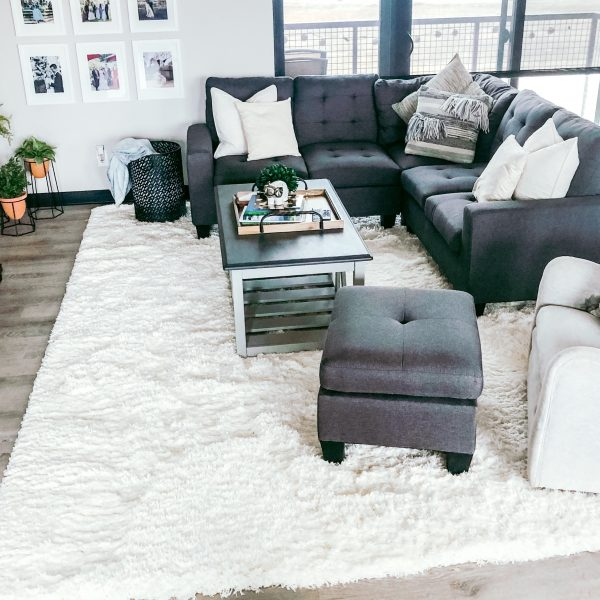 Updating our Living Room with Rugs.com