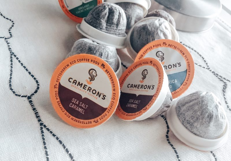 Celebrating Earth Day with Cameron's Coffee EcoPods