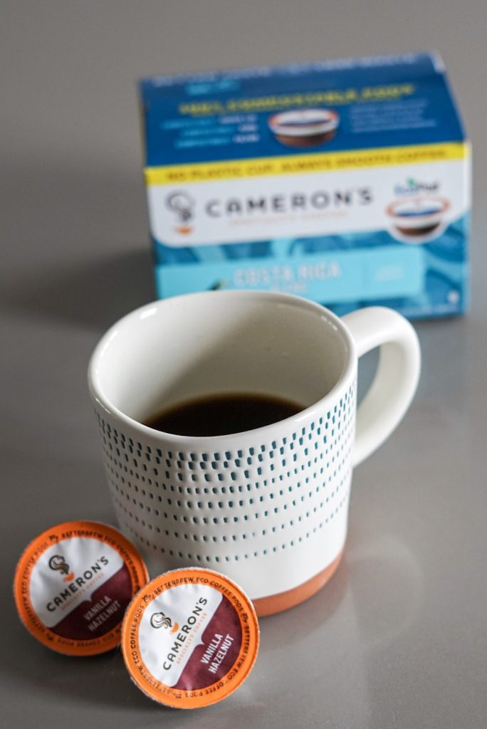 Celebrating Earth Day with Cameron's Coffee