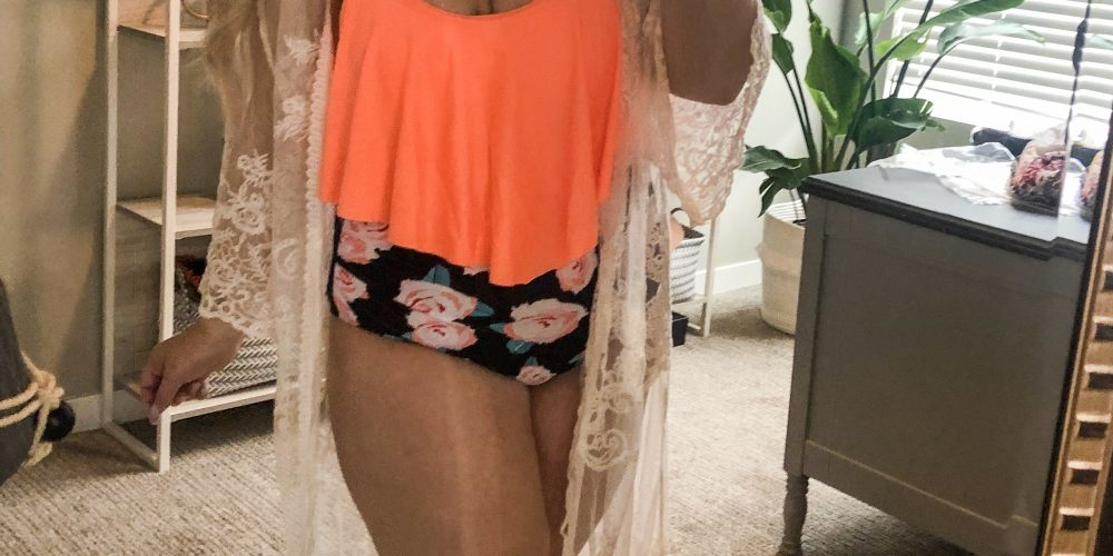 Amazon Swimsuit Try-On