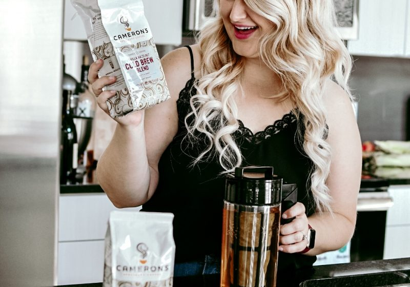 How to Make Cold Brew Coffee at Home with Cameron's Coffee