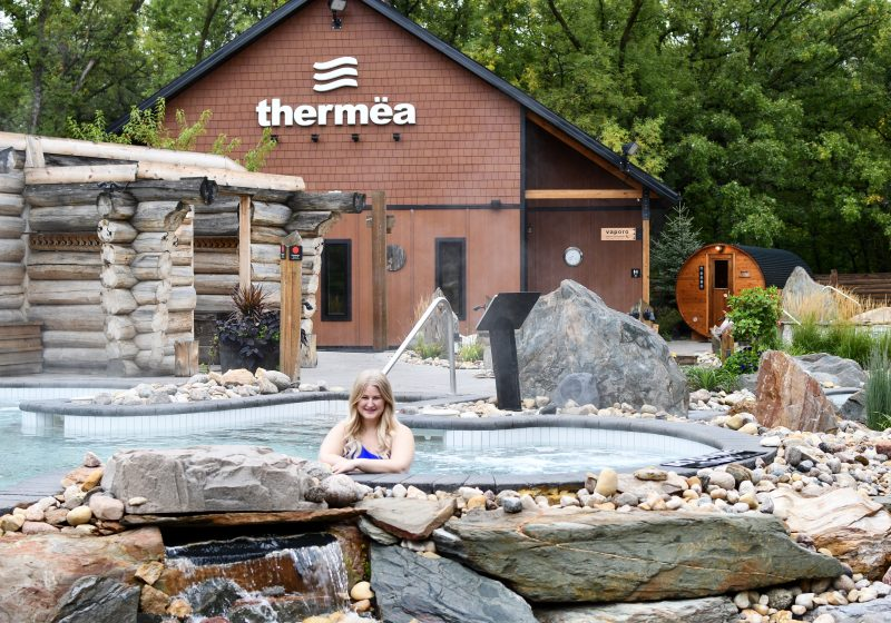Thermea Spa in Winnipeg