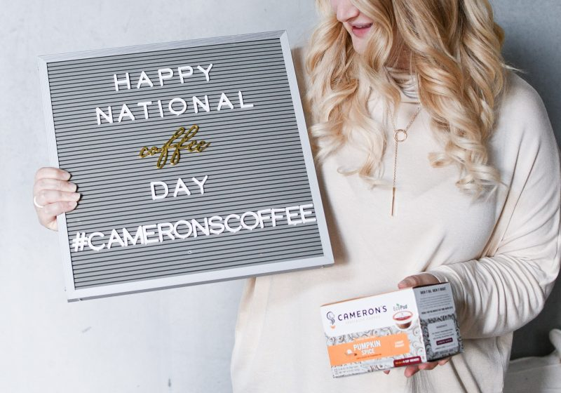 National Coffee Day with Cameron's Coffee
