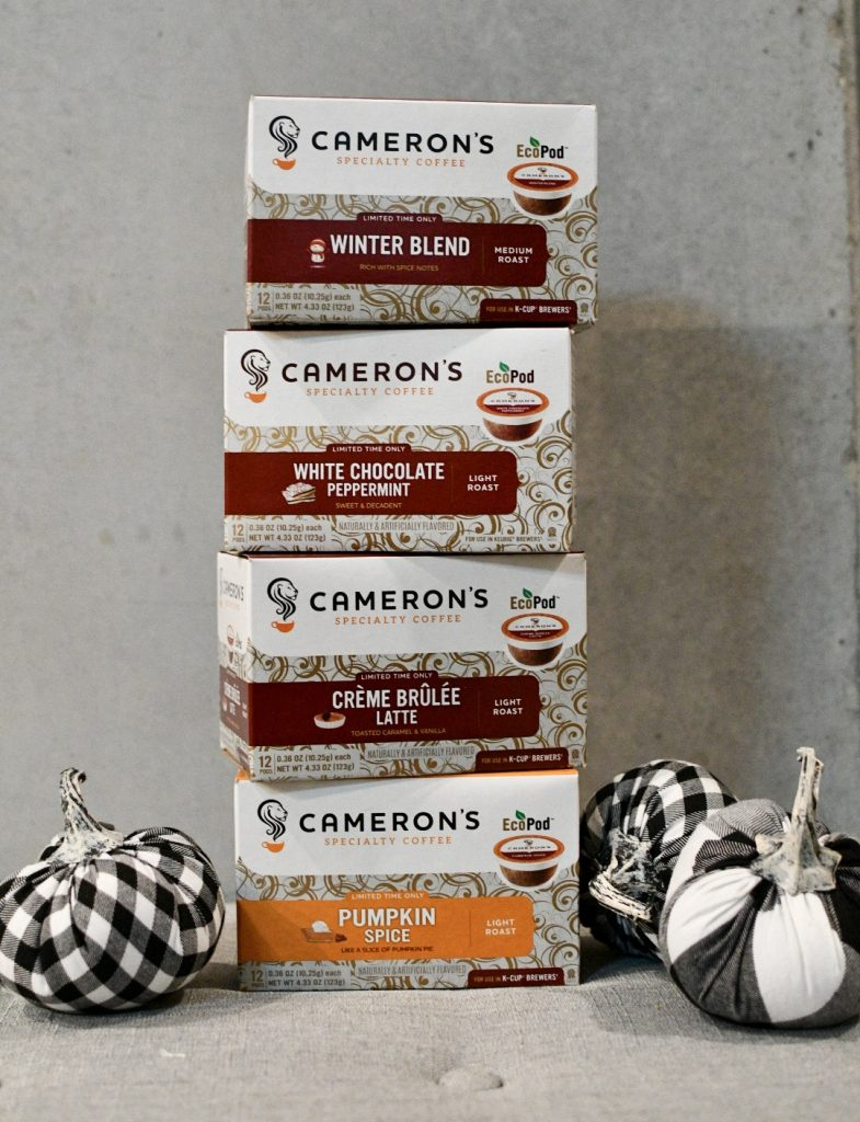Cameron's Coffee Holiday Flavors you are sure to love!