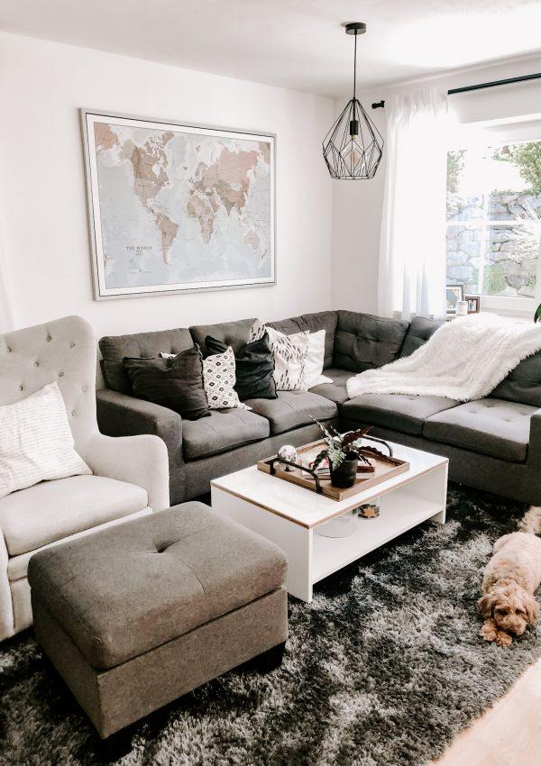 Living Room Decor – Home Tour